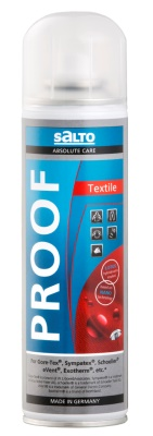 SALTO - Textil Proof - impregnace