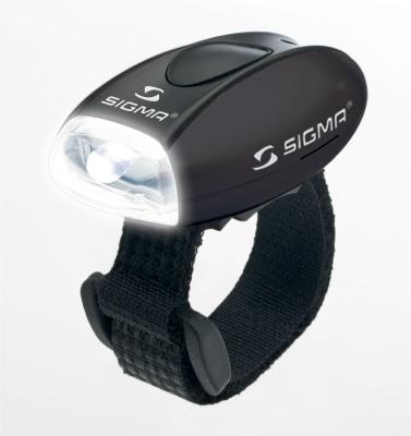 SIGMA - blikačka přední Micro W černá/black