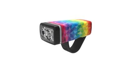KNOG - Světlo POP 2 - přední - Rainbow