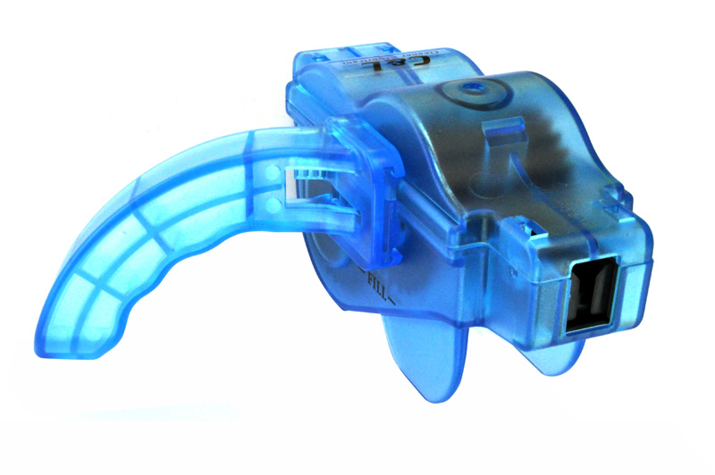 MAX1 Pračka řetězu LUFT s držadlem a bočními a vertikálními čistícími kartáčky