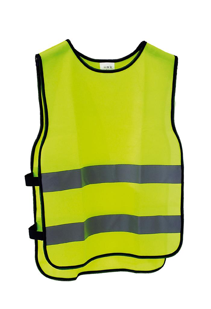 Basic reflexní bezpečnostní vesta M/L Junior výška postavy 160-180cm, obvod hrudníku 84-108cm