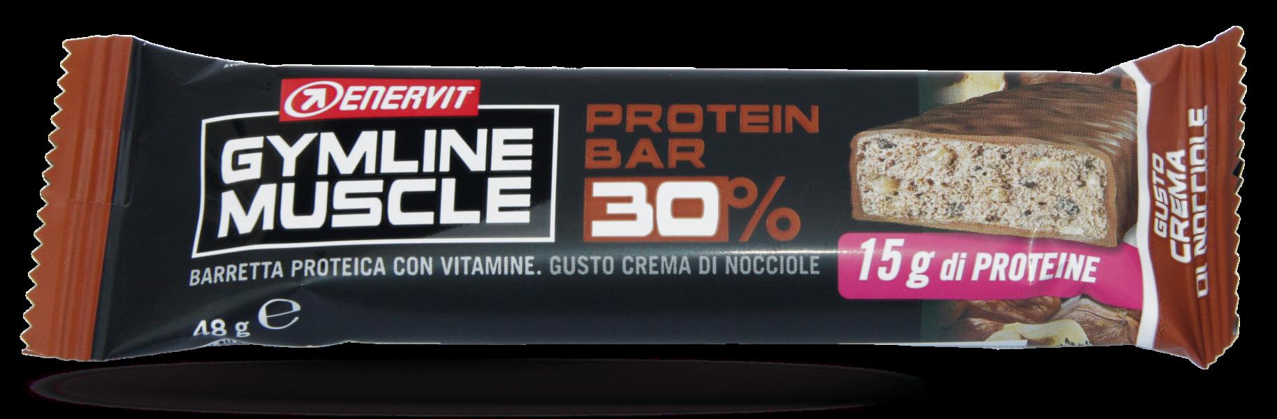 Enervit Gymline protein bar 30% čoko+lísk.ořech 48g