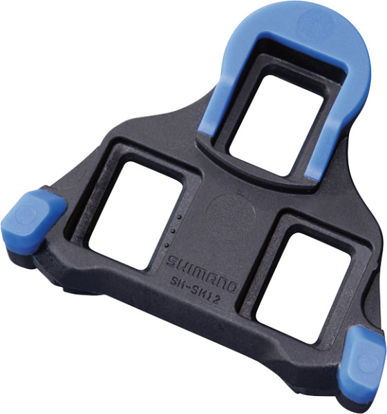 Shimano zarážky SM-Sh12, výkyv 2 st, modré, 1 pár