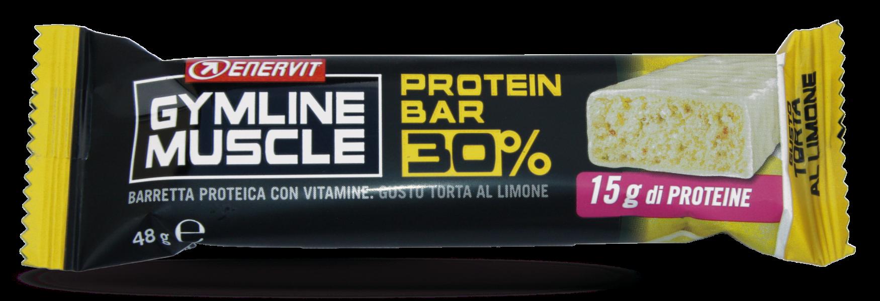 Enervit Gymline protein bar 30% citron 48g