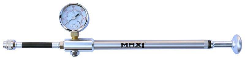 Max1 hustilka Shock s manometrem