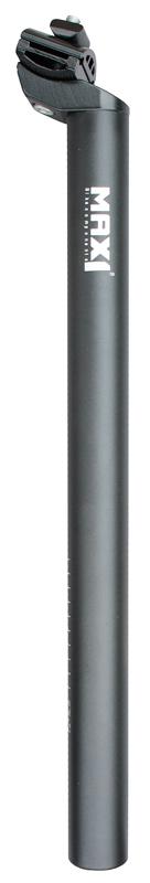Max1 sedlovka Al 31,6/400mm černá