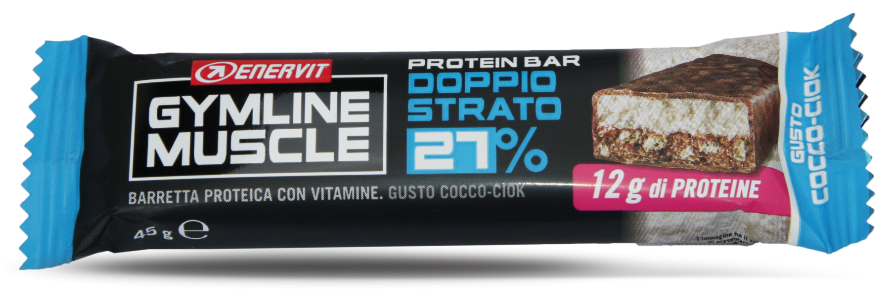 Enervit Gymline protein bar 27% kokos 45g