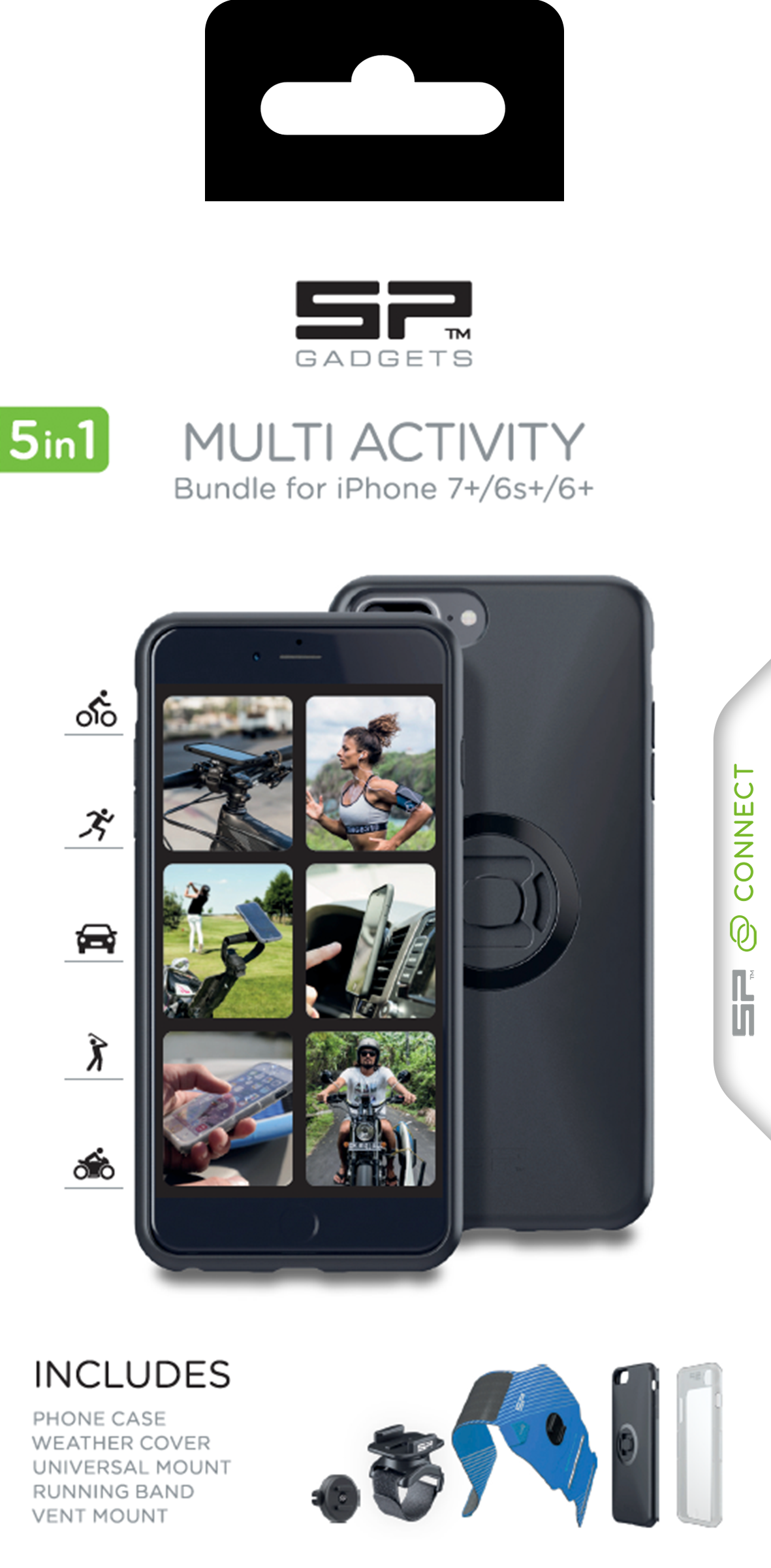 SP Connect Multi Activity iPhone 7+/6s+/6+